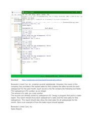 Download BrewsterSales Python Answer.docx