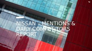 Nissan  - Weekly report (1).pptx