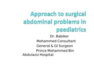 Surgical approach to abdominal problems.pptx