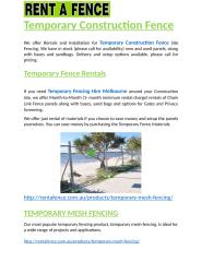 Temporary Construction Fence.docx