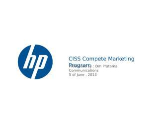 HP complan - final progress 050613.pptx